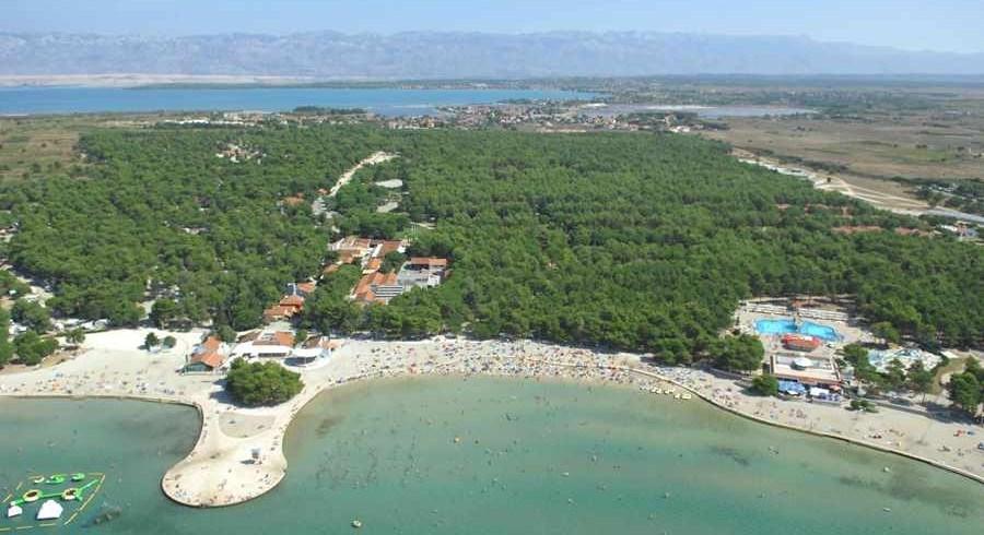 Mobilní domky Adriatic Kamp Zaton -