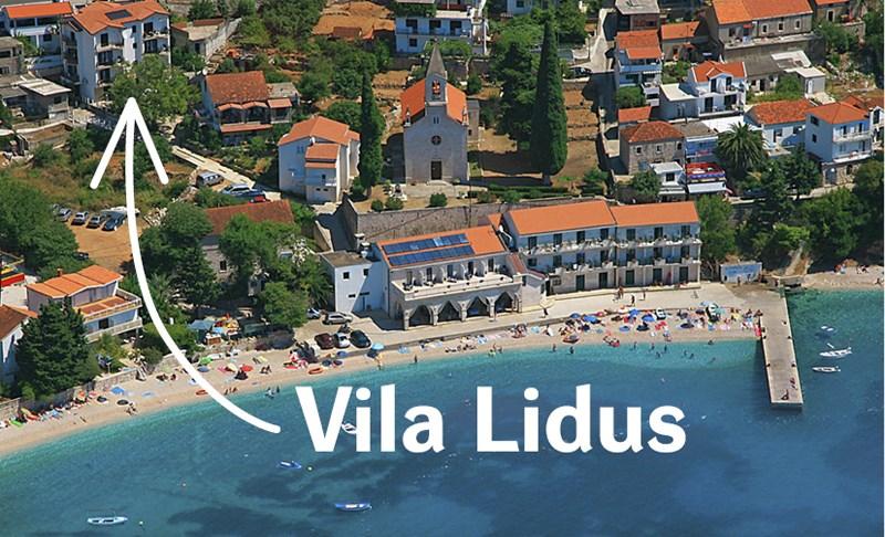 Vila LIDUS - Ostrov Iž