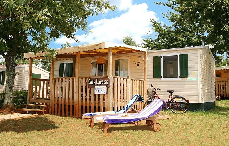 Mobilní domky Adriatic Kamp Umag - Krk